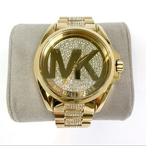 Michael Kors | Women's Watch Gold Diamond MK6487